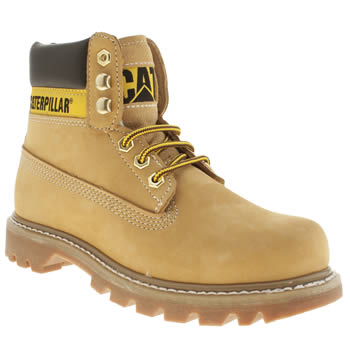 womens caterpillar natural colorado boots
