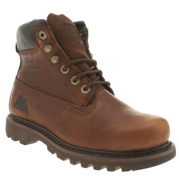 Womens Caterpillar Brown Bruiser Boots