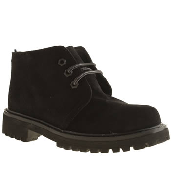 Womens Schuh Black Power Boots