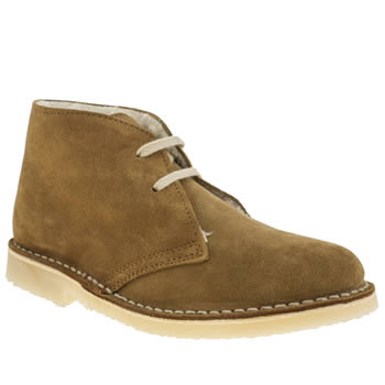 Womens Schuh Tan Baldwin Fleece Boots