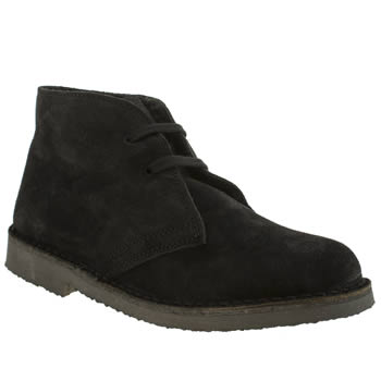 Womens Schuh Black Baldwin Fleece Boots