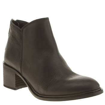 Womens Schuh Black Pioneer Boots