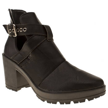 Schuh Black Expose Boots