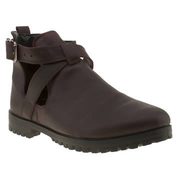 womens schuh burgundy ready boots