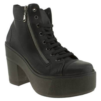 womens schuh black witness boots