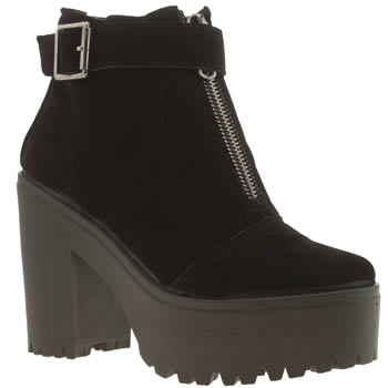Womens Schuh Black Crucial Boots
