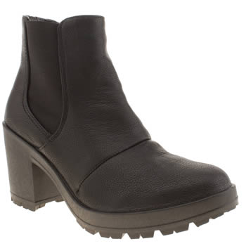 Womens Schuh Black Out Out Boots