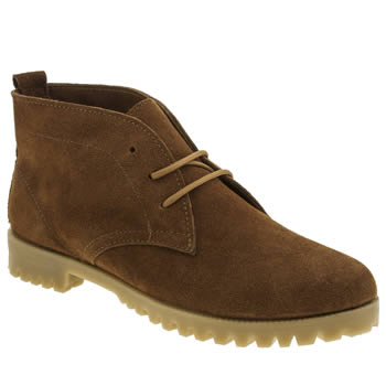 Womens Schuh Tan Clown Boots