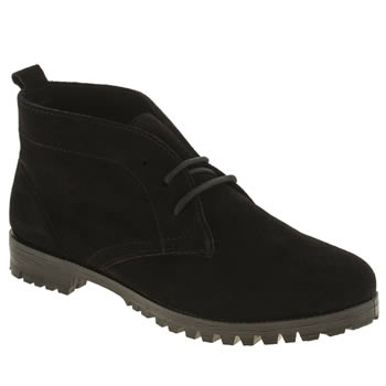 Womens Schuh Black Clown Boots