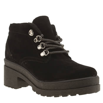 Schuh Black Hitch Hike Boots