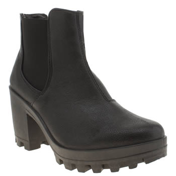 Schuh Black Highlight Boots