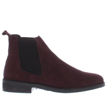 Schuh Burgundy Prompt Womens Boots