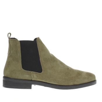 Schuh Khaki Prompt Womens Boots