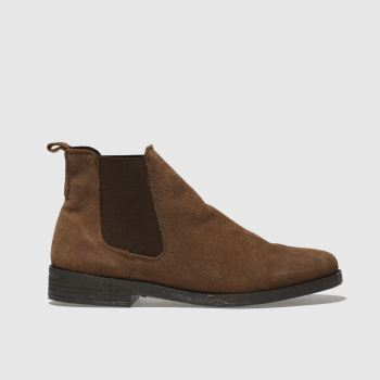 Schuh Tan Prompt Womens Boots