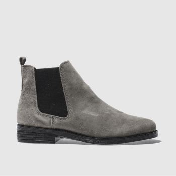 Schuh Grey Prompt Womens Boots