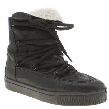 Womens Schuh Black Catch Some Air Boots