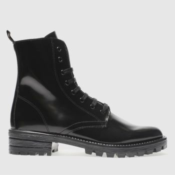Schuh Black Mess About Womens Boots