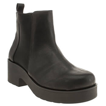 Schuh Black Frenzy Boots