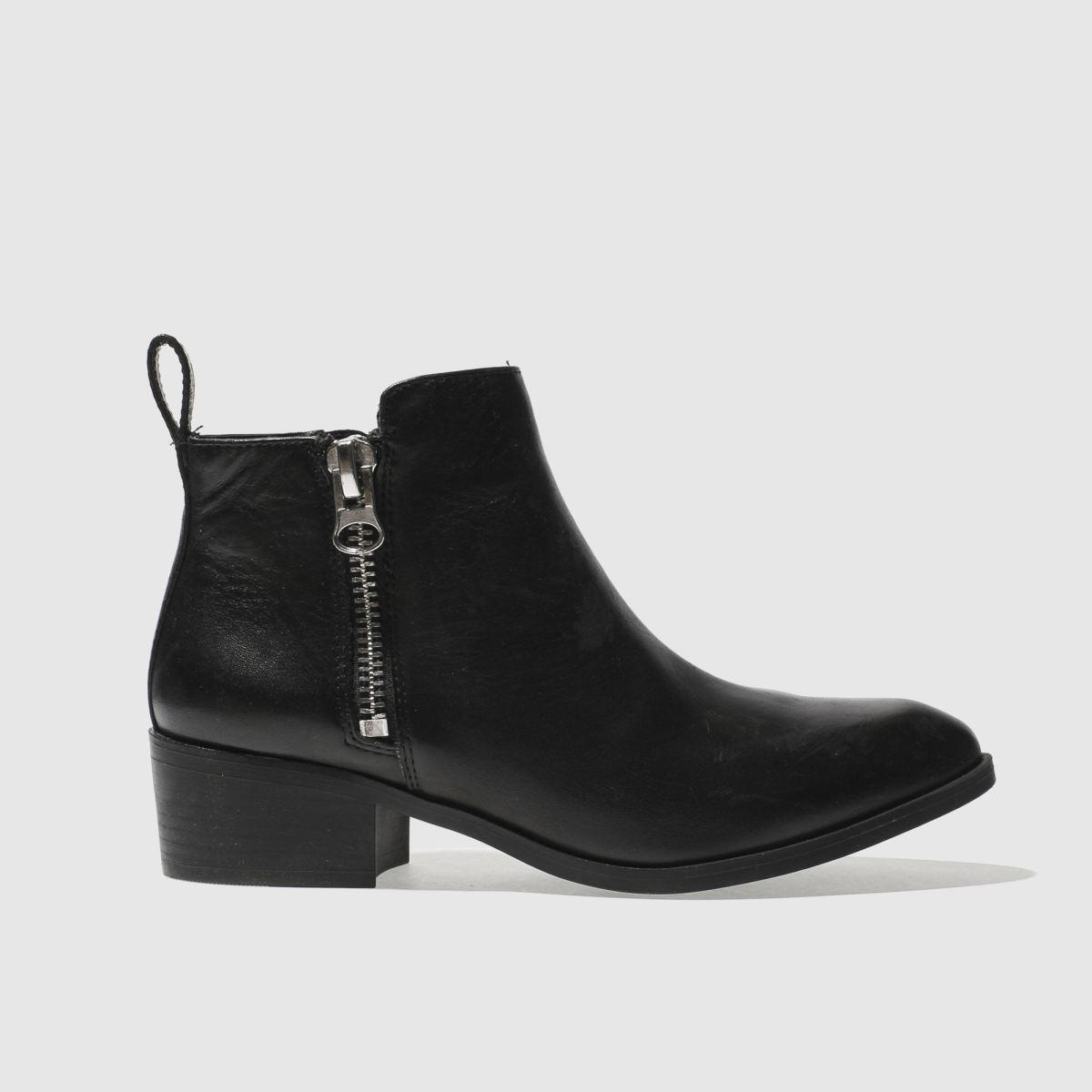 Schuh Black Mobster Boots