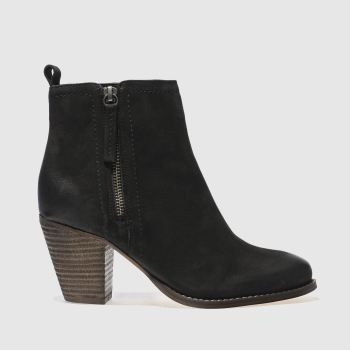 Schuh Black Champ Womens Boots
