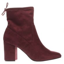 Schuh Burgundy Fruit Loop Womens Boots