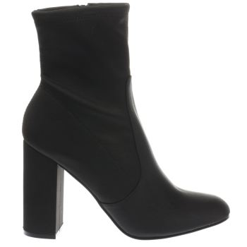 Schuh Black Refresh Womens Boots