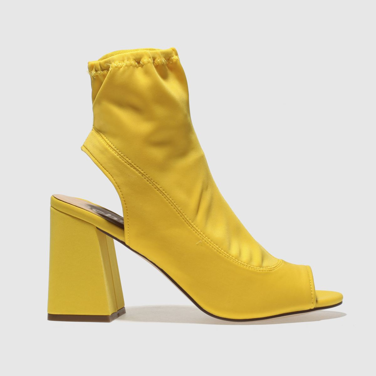 Schuh Yellow Swish Boots