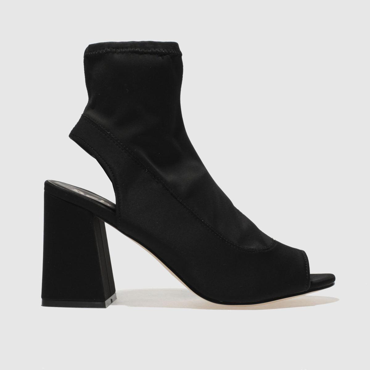 Schuh Black Swish Boots