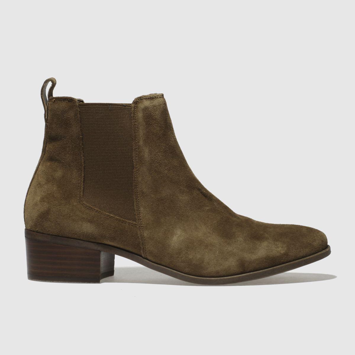 Schuh Tan Chillax Boots