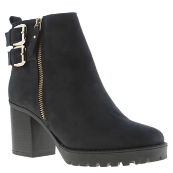 Womens Schuh Navy Clique Boots