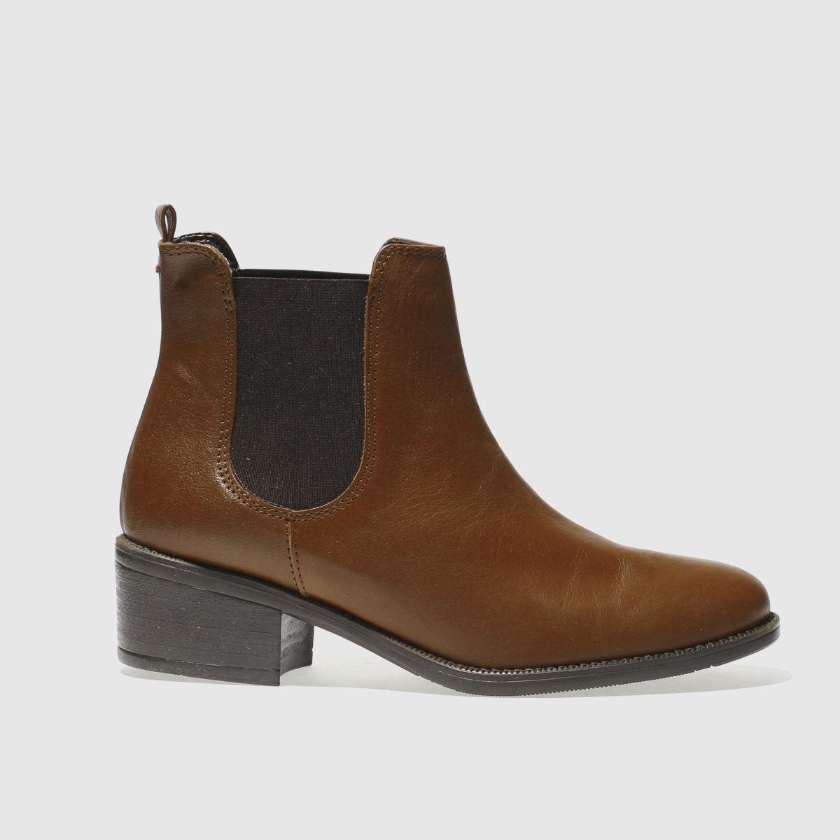Schuh Tan Vice Boots