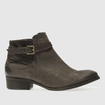 Womens Schuh Dark Brown Adventure Boots