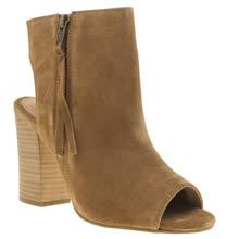 Schuh Tan Risk It Womens Boots