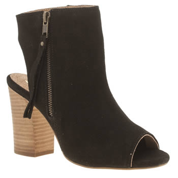 Schuh Black Risk It Boots