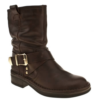 Schuh Brown Solo Boots