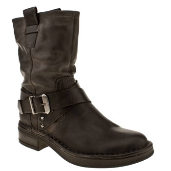 Schuh Black Solo Boots