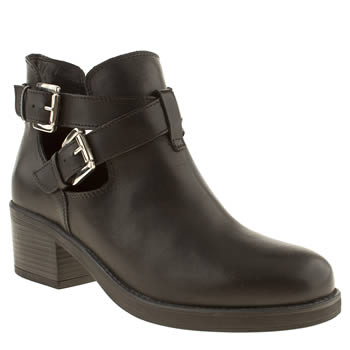 Schuh Black Chill Out Boots