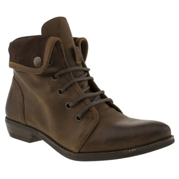 Schuh Brown Tempo Ii Boots