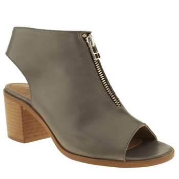 Schuh Grey Record Boots