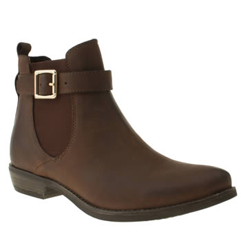 Womens Schuh Brown Volcano Boots