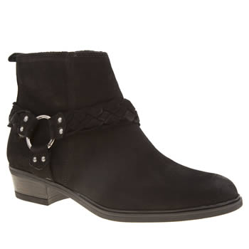 Schuh Black Howdy Boots