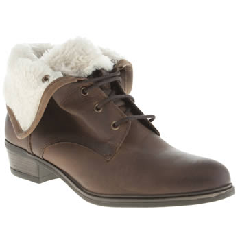 Womens Schuh Brown Tempest Boots