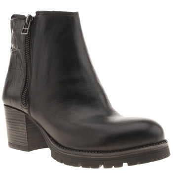 Schuh Black Electric Boots