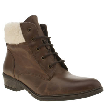 Schuh Brown Temper Boots