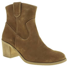 Schuh Tan Badlands Womens Boots