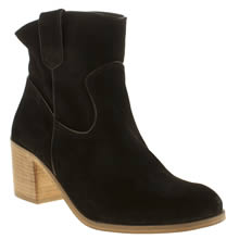 Schuh Black Badlands Womens Boots