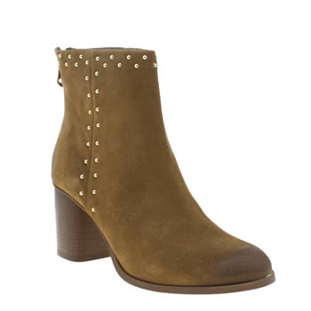 Schuh Tan Doing It Right Womens Boots