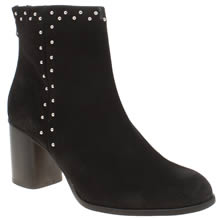 Schuh Black Doing It Right Boots