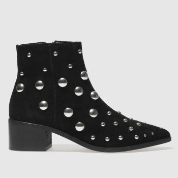Schuh Black Dare Me Womens Boots