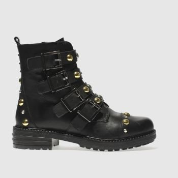 Schuh Black Statement Womens Boots